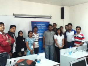 Participants and judges of programming Contest @ Gnunify'12